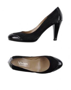 Туфли VIVIEN. Цвет: черный