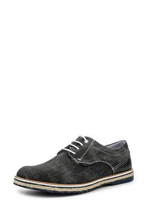 Туфли Tony-p. Цвет: черный