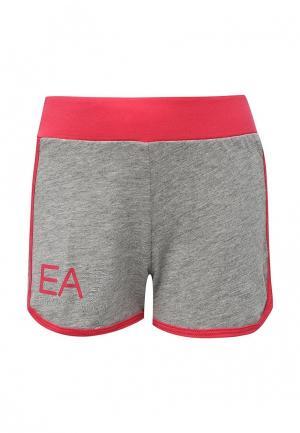 Шорты EA7. Цвет: серый
