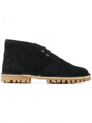 Ботинки-дезерты Car Shoe. Цвет: чёрный