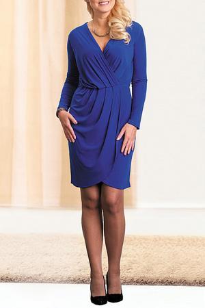 Платье MARCA-M. Цвет: синий