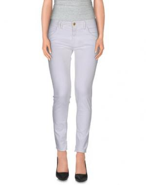 Повседневные брюки CYCLE. Цвет: белый