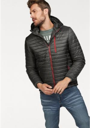 Стеганая куртка JOHN DEVIN. Цвет: оливково-зеленый, темно-синий, черный