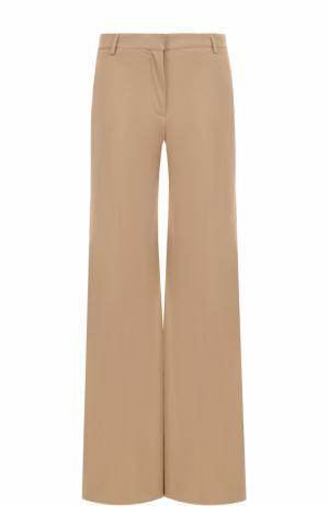 Расклешенные брюки со стрелками Burberry. Цвет: бежевый
