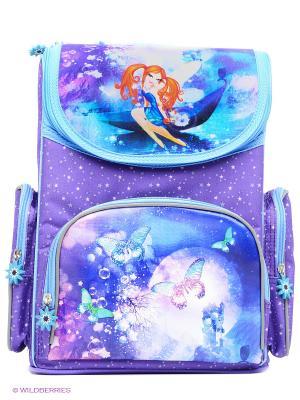Рюкзак PROFF. Цвет: голубой, сиреневый