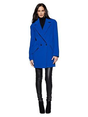 Пальто APART. Цвет: синий
