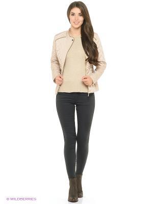Куртка Modis. Цвет: серый, бежевый