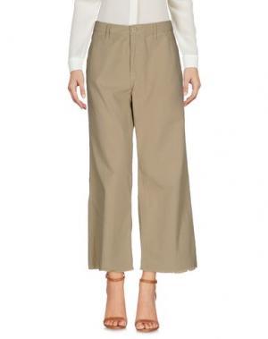 Повседневные брюки NSF. Цвет: песочный