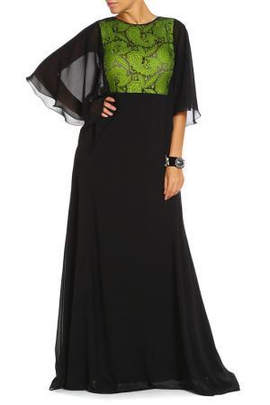 Платье BGN. Цвет: зеленый