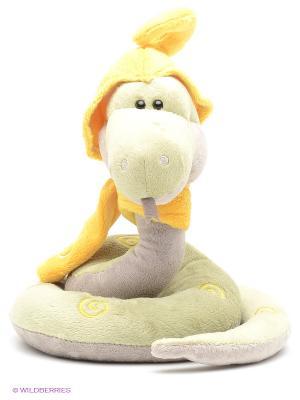 Игрушка Змей Луи ORANGE. Цвет: желтый, зеленый, серый
