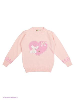 Свитшот Kidly. Цвет: розовый