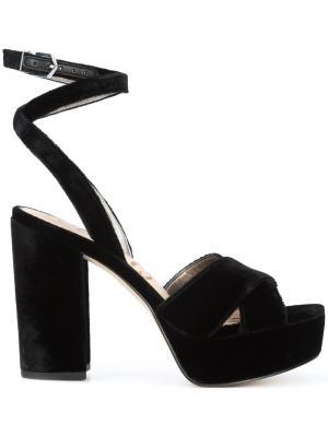 Strappy sandals Sam Edelman. Цвет: чёрный
