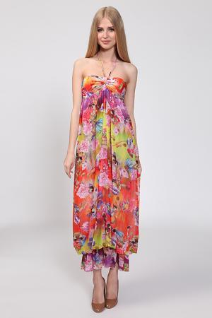 Платье Nicole Olivier. Цвет: мультиколор(812)