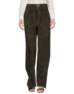 Повседневные брюки STOULS. Цвет: зеленый-милитари
