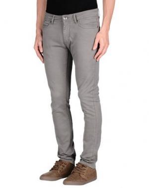 Повседневные брюки 1° GENITO. Цвет: серый