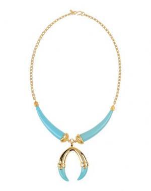Ожерелье KENNETH JAY LANE. Цвет: небесно-голубой