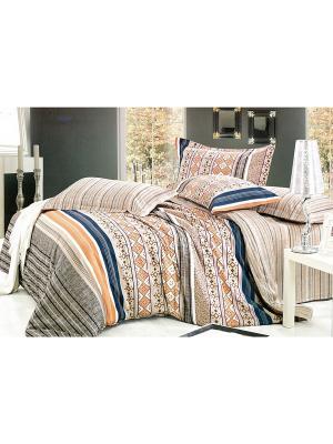 Комплект постельного белья, Семейный Sofi de Marko. Цвет: бежевый