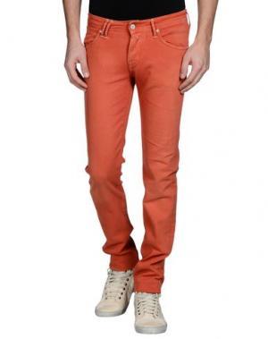 Джинсовые брюки CYCLE. Цвет: ржаво-коричневый