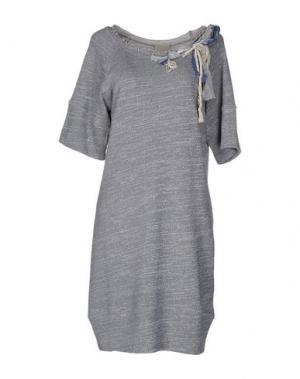 Короткое платье JIJIL. Цвет: грифельно-синий