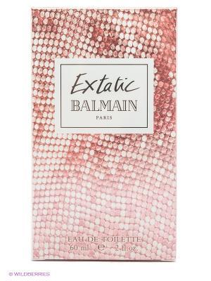 Туалетная вода Balmain Extatic Edt Spray, 60 мл. Цвет: розовый