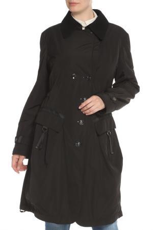 Пальто Tuzzi. Цвет: черный
