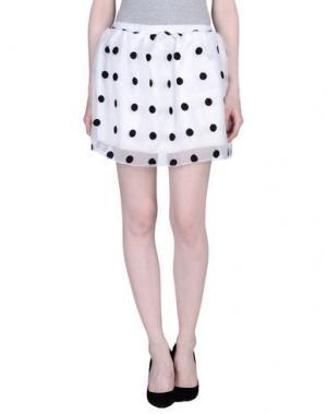 Мини-юбка BAGUETTE...... Цвет: белый
