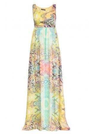 Платье из искусственного шелка 167874 Paola Morena. Цвет: разноцветный