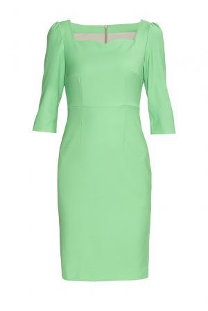 Платье из шерсти 141180 Villa Turgenev. Цвет: зеленый