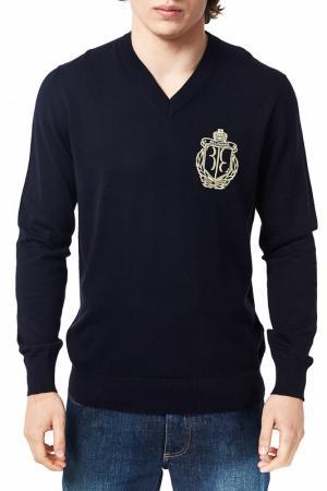 Пуловер Billionaire. Цвет: синий
