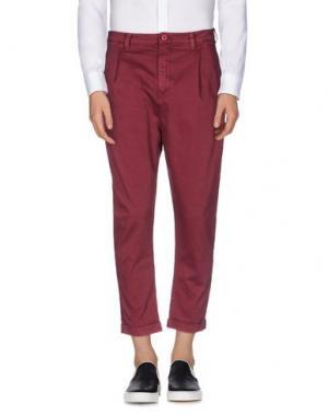 Повседневные брюки CHOICE NICOLA PELINGA. Цвет: пурпурный