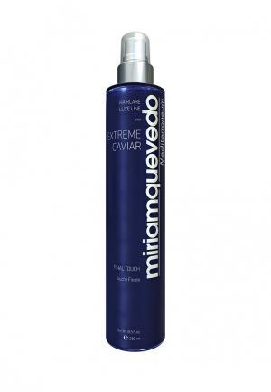 Фиксирующий спрей для волос Miriam Quevedo. Цвет: синий