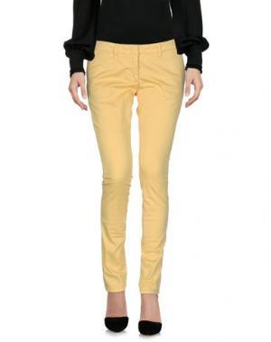 Повседневные брюки ANNIE P.. Цвет: желтый