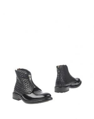 Полусапоги и высокие ботинки MAURON. Цвет: черный