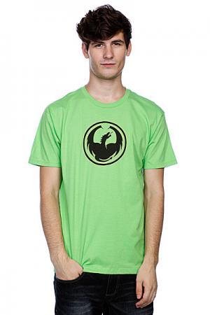 Футболка  Icon S/F T(Hs) Lime Dragon. Цвет: зеленый