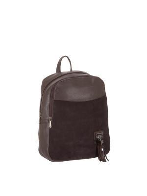 Рюкзак 5752A искусственная кожа Sofiya. Цвет: коричневый