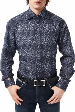 Рубашка Billionaire. Цвет: серый