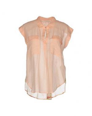 Блузка GOLD CASE SOGNO. Цвет: абрикосовый