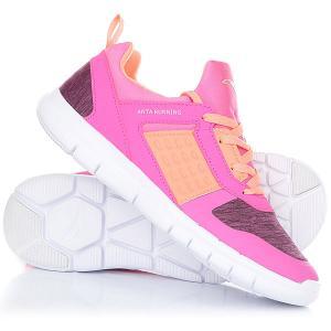 Кроссовки детские Anta W32715510-1 Pink. Цвет: розовый,оранжевый