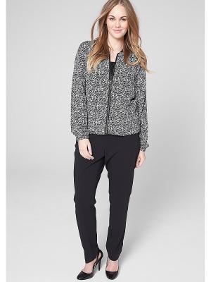 Куртка S.OLIVER. Цвет: черный, белый