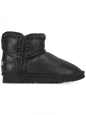 Ботинки Norfolk Mou. Цвет: чёрный