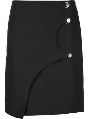 Короткая юбка Opening Ceremony. Цвет: чёрный