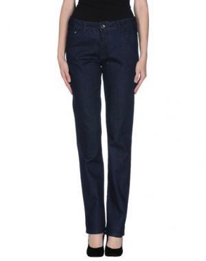 Джинсовые брюки GEOX. Цвет: синий