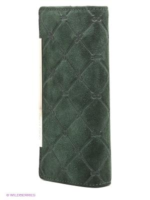 Кошелек Gianni Conti. Цвет: темно-зеленый