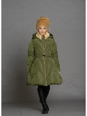 Пальто Stillini. Цвет: хаки