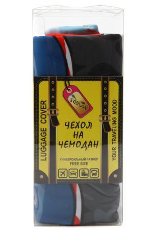 Чехол на чемодан SOVA COVER. Цвет: хипстер дог