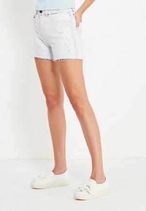 Шорты джинсовые Calvin Klein Jeans. Цвет: голубой