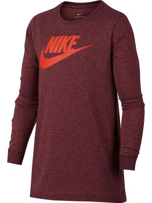 Лонгслив B NSW TEE LS FUTURA OVERDYE Nike. Цвет: фиолетовый