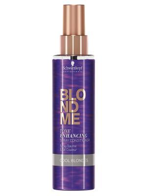 BlondMe Бондинг - Спрей Кондиционер для холодных оттенков блонд, 200 мл Schwarzkopf Professional. Цвет: фиолетовый