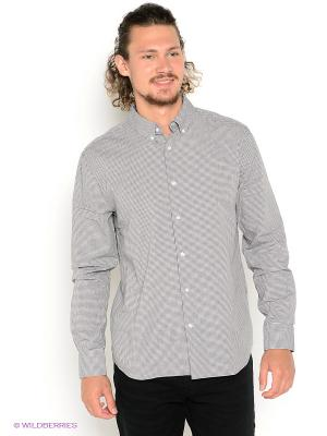 Рубашка TOM FARR. Цвет: серый, белый