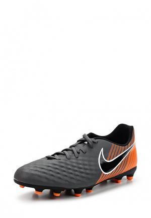 Бутсы Nike. Цвет: серый